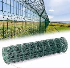 Inmozata Green Pvc Coated Wire Mesh Fencing Rolls Netting Galvanized Steel Mesh Chicken Wire Fencing For Garden Outdoor 1 8mx10m Amazon Co Uk Garden Outdoors