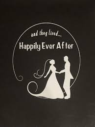 Wedding Decal Bride Groom Sticker Happily Ever After Window Etsy