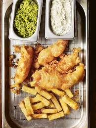 Homemade fish and chips recipe