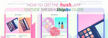 how to get the hush beauty app