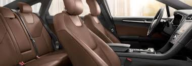 2019 ford fusion interior material and
