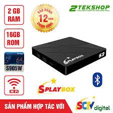 Android TV Box 4K SCTV Splay S2 Ram 2GB + 16GB Bộ Nhớ Trong ...