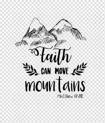 T Shirt Black And White Faith Mountain Car Transparent Background Png Clipart Hiclipart