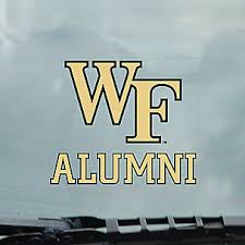 Wake Forest University License Plate Frames Car Decals And Stickers
