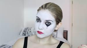 cute mime makeup tutorial saubhaya makeup