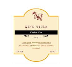 40 free wine label templates editable