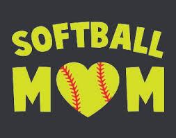 Softball Mom Car Decal Softballballmomdecal