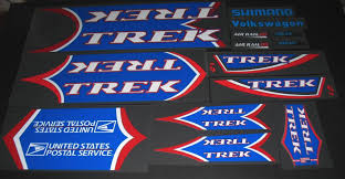 Trek 2001 5200 Usps Oclv Bicycle Decal Set Velocals