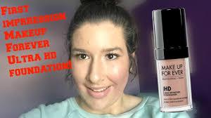 makeup forever hd foundation for acne e