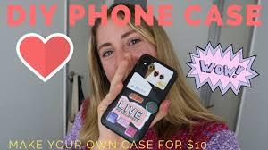 Diy Sticker Phone Case Youtube