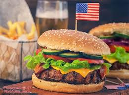 Foreman Grill American Hamburger - Foreman Grill Recipes