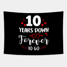 10th anniversary shirt 10 years down