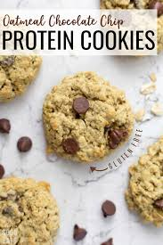 oatmeal chocolate chip protein cookies