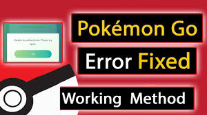 Solved] Pokemon Go - Unable to authenticate. Please try again ...