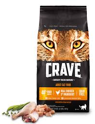 en high protein dry cat food crave