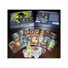 one night ultimate werewolf board