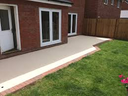 x grid and resin bound patio customer