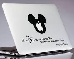 Macbook Decal Disney Etsy