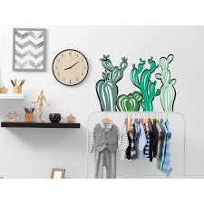 Shop Cactus Wall Decal Kids Nursery Wall Decor Floral Overstock 32067039