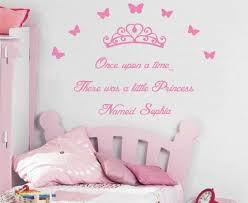A Princess Named Willow Large Once Upon A Time Wall Sticker Decal Girl For Sale Online Ebay