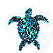 Tribal Treasure Turtles Car Sticker Cute And Interesting Car Accessories New Style Hot Vinyl Decals Car Styling Car Stickers Aliexpress