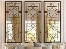 rustic bronze osburn wall mirror