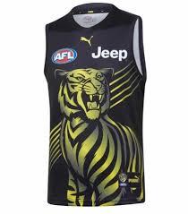 Richmond tigers 20/21 jersey – Yellow ...