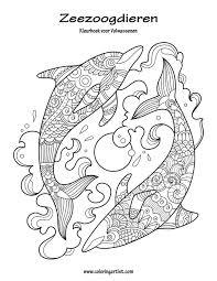 Amazon Com Zeezoogdieren Kleurboek Voor Volwassenen 1 Volume 1