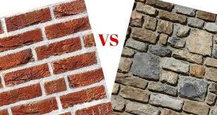 choosing between stone and brick