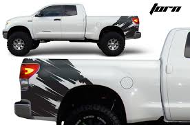 Toyota Tundra 2007 2013 Rear Decal Torn Factory Crafts