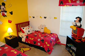 resourceful mickey mouse kids rooms