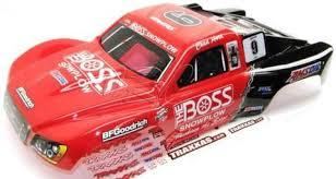 Nitro Slash Body Shell Red 9 Boss Chad Hord Ed 4416 Decals Traxx Jennys Rc Llc