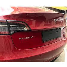 Spacex Decals Model 3 Model S Model X Re Buy Online In El Salvador At Desertcart