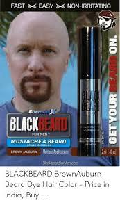 formole x black beard for men mustache