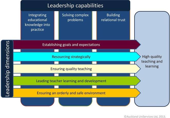 "Image result for viviane robinson leadership dimensions"""