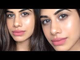 no makeup makeup look no foundation