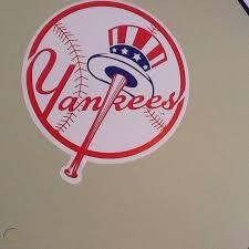 Fathead New York Yankees Circle Logo Wall Decals Huge 66 X 54 Sheet 1866479322