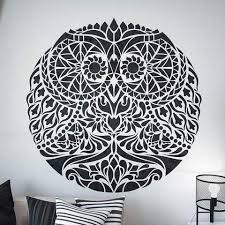 Mandala Stencils For Furniture Floors And Walls Stencilslab Wall Stencils
