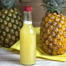 homemade fermented pineapple vinegar