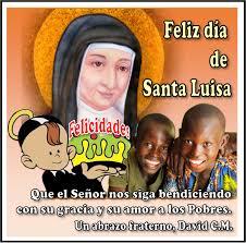 Fiesta de santa Luisa de Marillac – 9 de mayo – Congregación de la ...