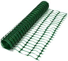 True Products B1001a 1m X 50m Green Plastic Barrier Mesh Safety Fence 5 5kg Roll Medium Amazon Co Uk Diy Tools