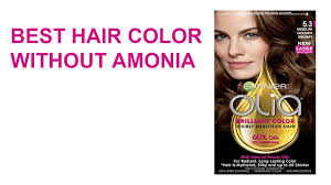 best hair colour without ammonia does