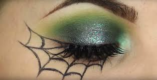 easy spider web eye makeup saubhaya