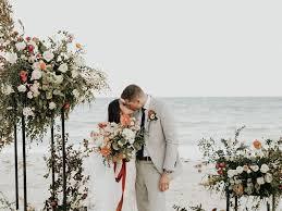 A Modern Beach Wedding in Tulum, Mexico