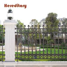 China Customized Decorative Garden Aluminum Metal Outdoor Privacy Fence China Security Metal Fence And Garden Security Fence Price
