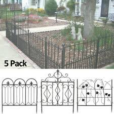 Iron Fence Panels For Sale In Stock Ebay