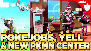 NEW Info! New Pokemon Centers, Rotomi, & Poke Jobs - Pokemon Sword ...