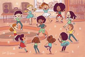 Image result for children dance clip art