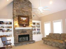 tall stone fireplace ideas brandd me