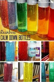 calming glitter bottles make your own